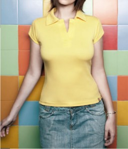 25.Polo Short Sleeve for Ladies
